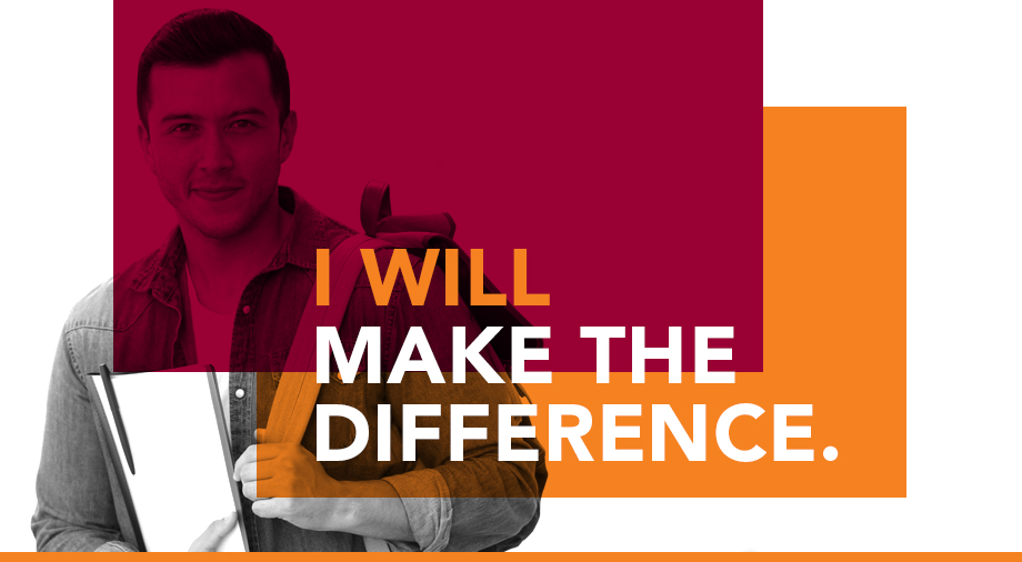 Make the Difference banner